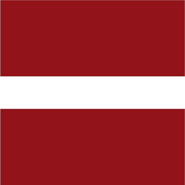 drapeau lettonie